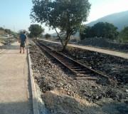חמישה מיליון שקלים הושקעו בטיילת המסילה