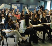 STUDENTS' ROAMING REPORTS ON THE DEBATING CONFERENCE