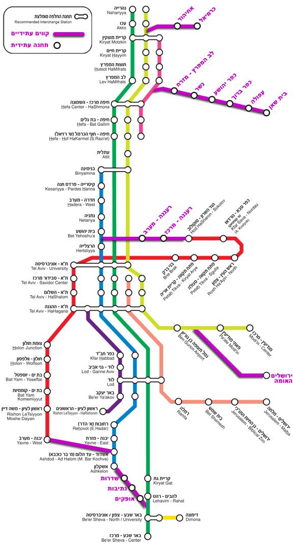Схема перегонов московского